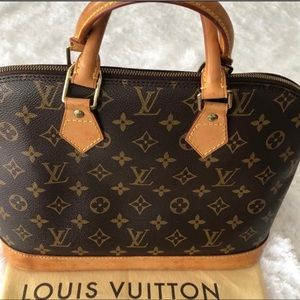 ✨SALE✨LV Vintage Alma PM Mono Canvas Handbag